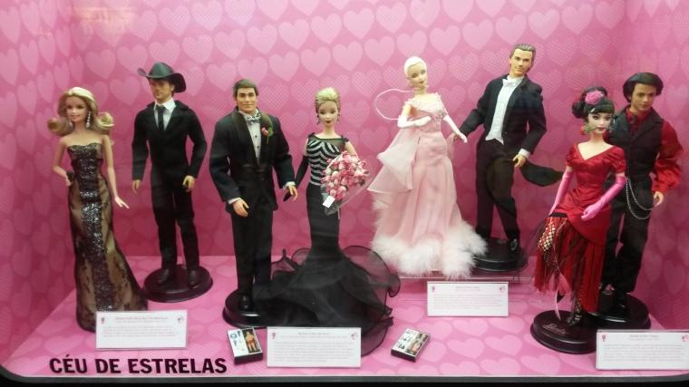 Faith Hill e Tim McGraw, junto com o casal nos anos 40, na valsa e no tango.