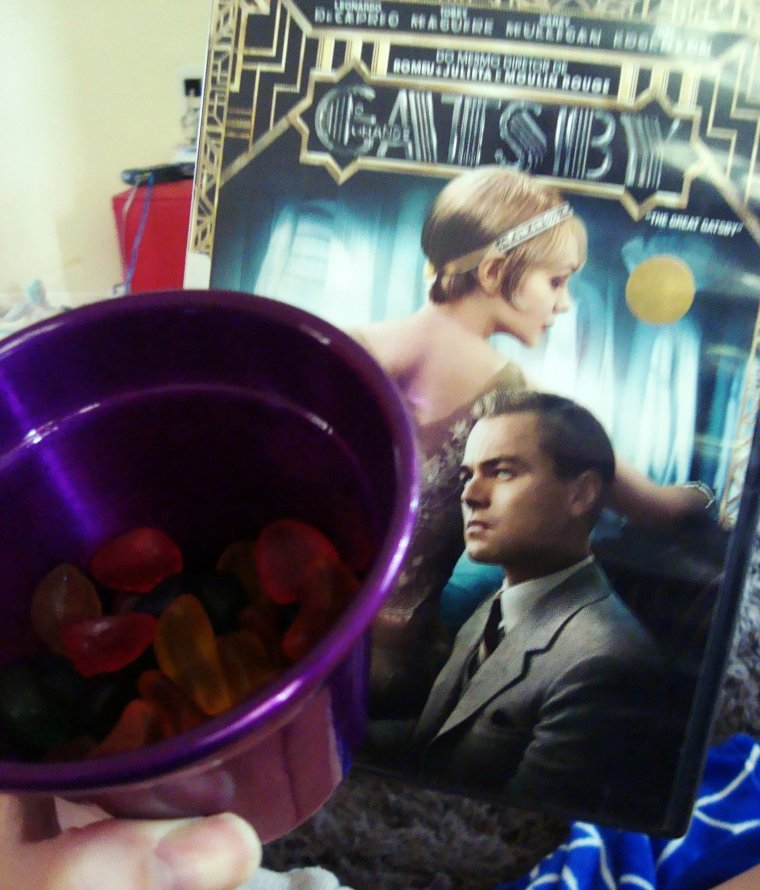 O grande Gatsby com Fini de fruta sortidas <333